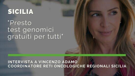 """Sicilia: """"Presto test genomici gratuiti per tuttti"""""""